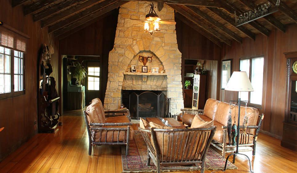 Cypress Log Cabin Century of Progress Home