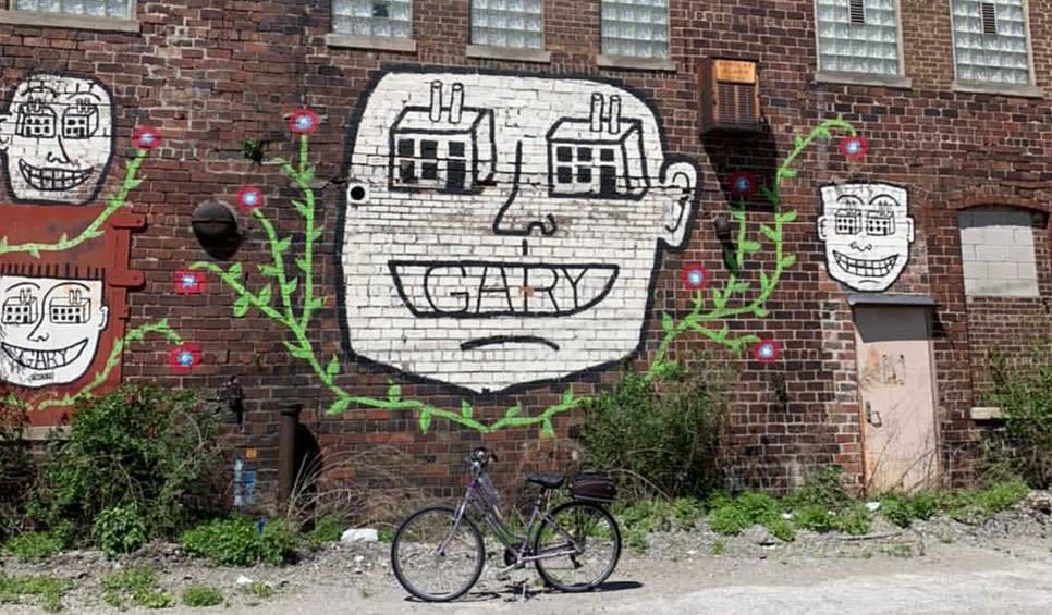 Decay Devil's Preservation Ride - mural