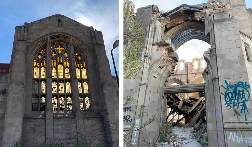 Decay Devil's Preservation Ride - Methodist church in Gary