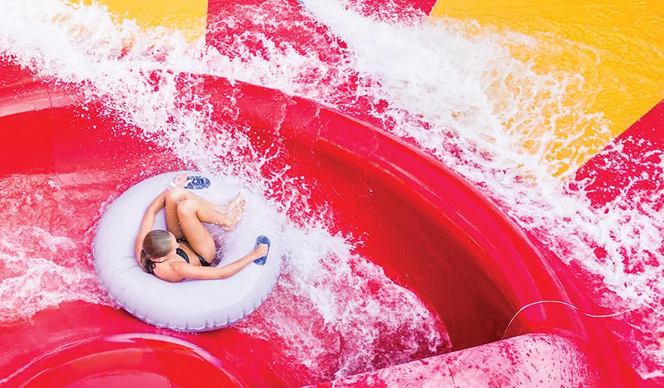 Deep River Waterpark slide