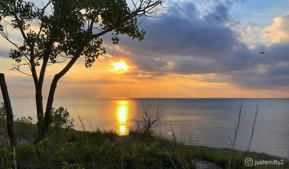 Lake View sunset justsmitty2