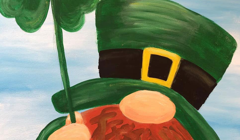 Luck O the Irish Paint Night