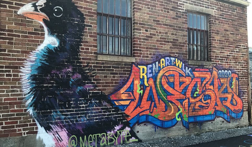 metabyte: colorful chicken &  Lordwesk tag