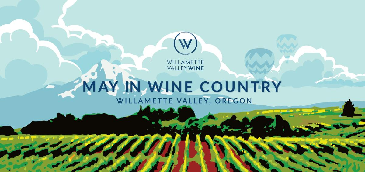 May in Wine Country