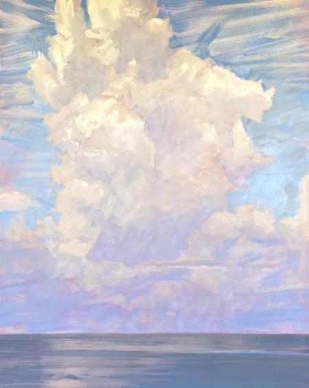 Apophatic, oil on canvas