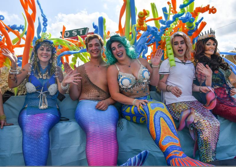 Mermaid Festival Attendees