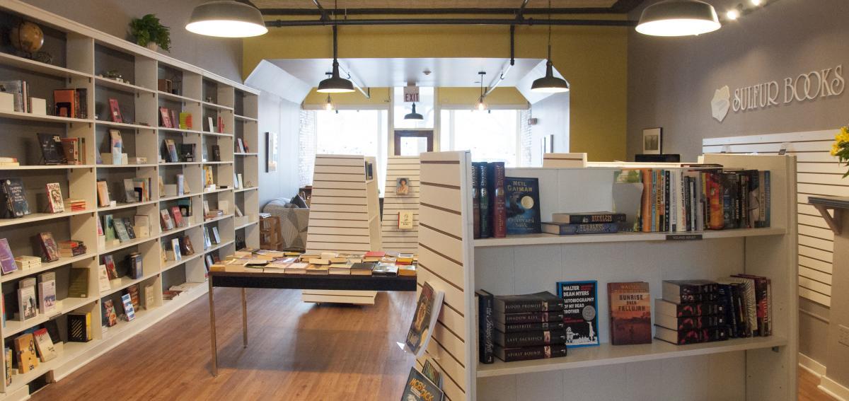 Inside at Sulphur Books