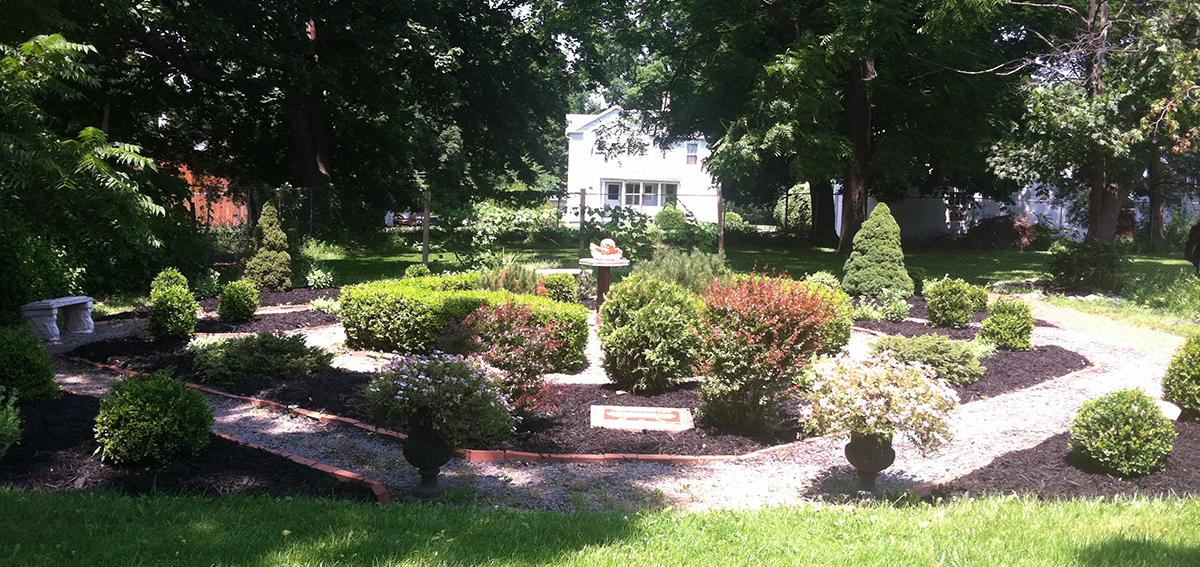 Granger Homestead & Carriage Museum- Peace Garden