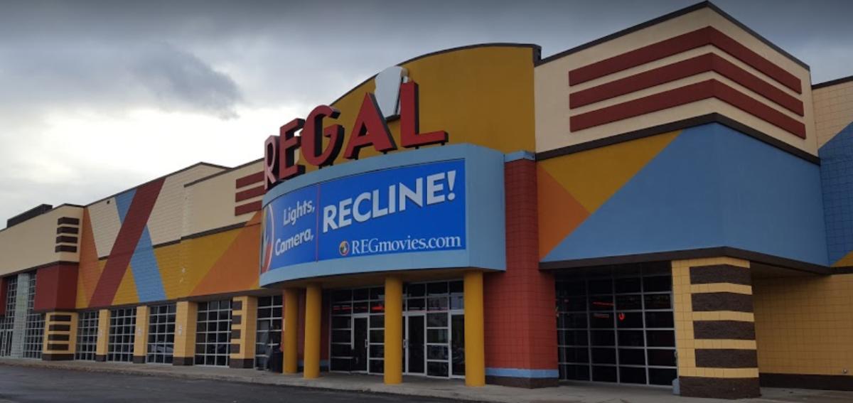 Outside of Regal Cinemas