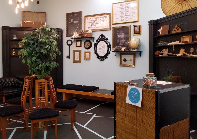 Inside Code & Key Escape Room