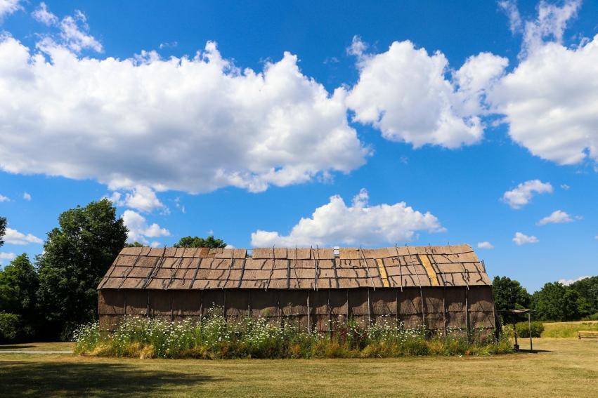 Ganondagan Bark Longhouse