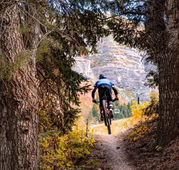 Sundance Mountain Biker Utah Valley