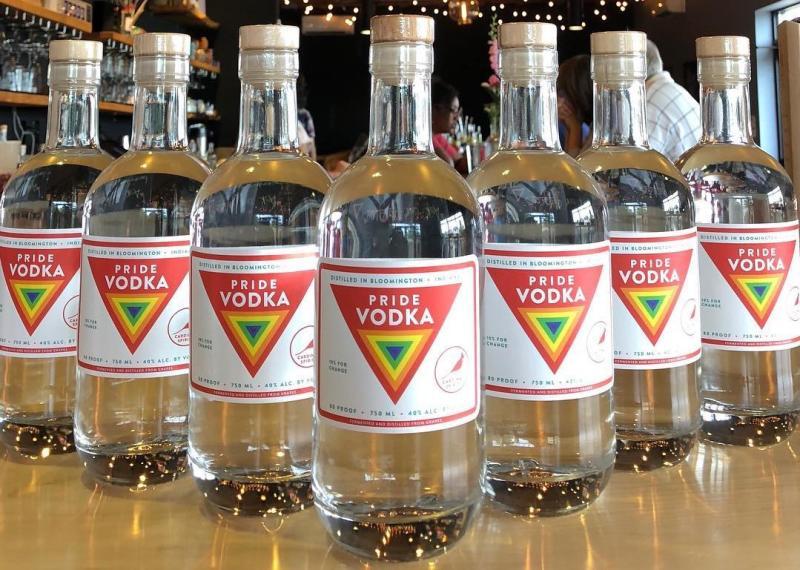Cardinal Spirits Pride Vodka