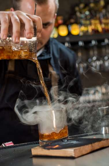 Smoked Cedar Cocktail
