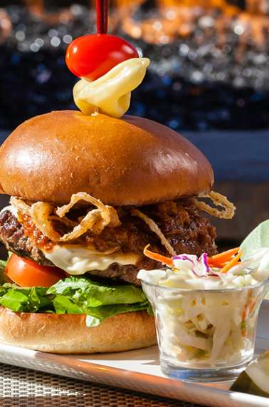 Pechanga Journeys End Restaurant Month Burger