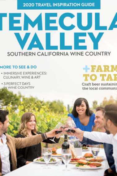 2020 Visit Temecula Valley Visitors Guide
