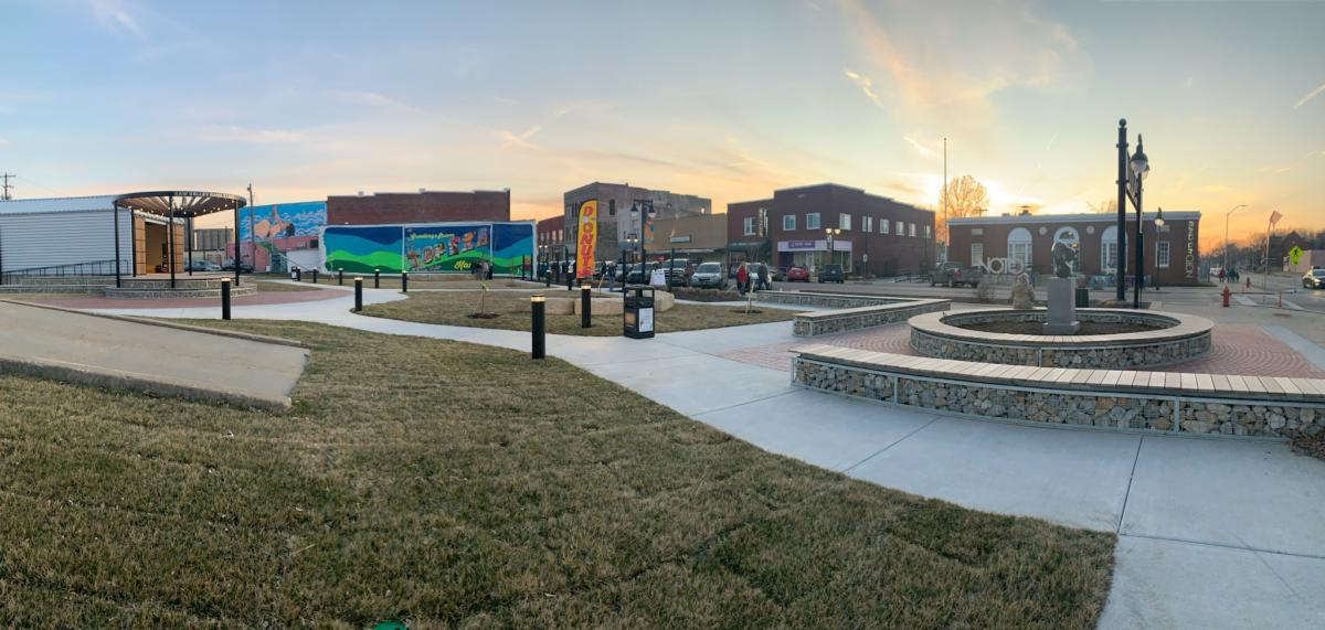 NOTO Arts & Entertainment District - Rosebud Park | Topeka, KS