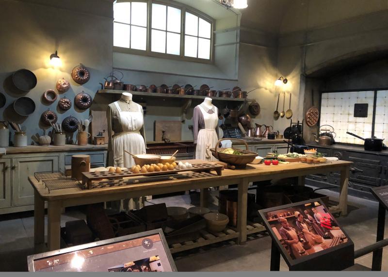 Downton Abbey: The Exhibition Kitchen Scene