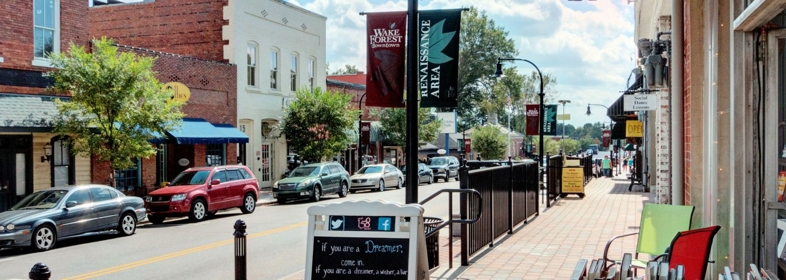 Wake Forest downtown
