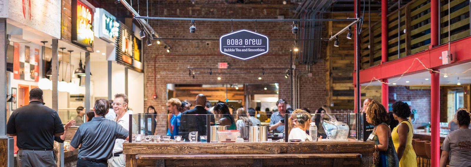 Boba Brew Morgan Street Food Hall