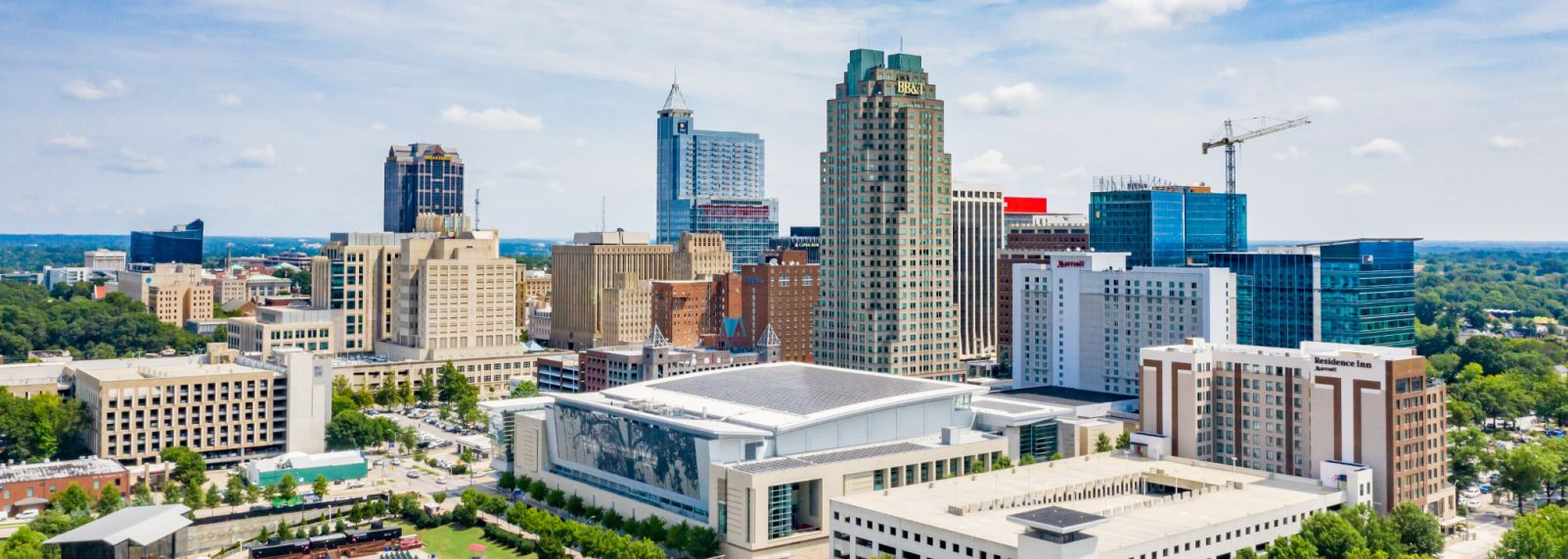 Raleigh, N.C., downtown skyline