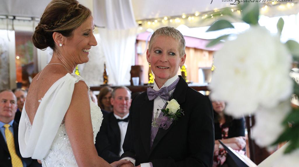 Saratoga wedding spotlight: Kathy and Kim's wedding ceremony