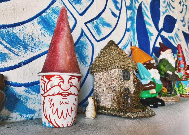 Gnome cones by other gnomes