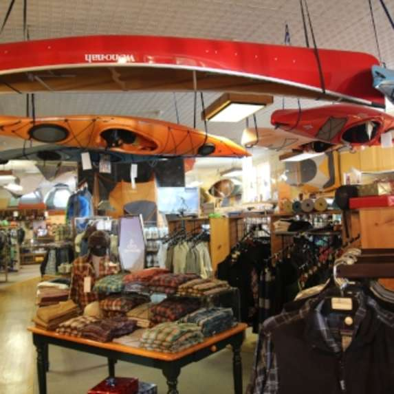 Kayaks and outdoor gear at JL Waters