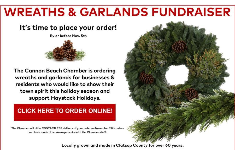 Wreath & Garland online ordering