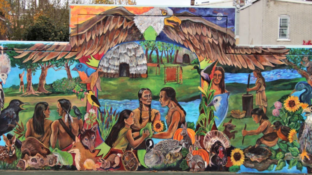Allentown Mural - 'The First Nation (2019)'