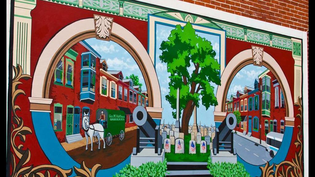 Allentown Mural - 'Old Allentown (2010)'