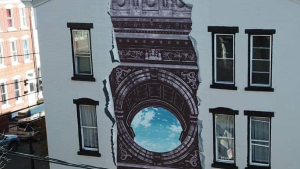 Allentown Mural - 'Portal (2020)'