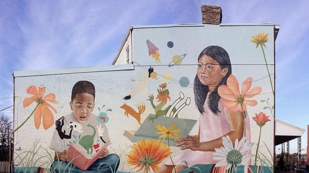 Allentown Mural - 'Reading is a Portal (2020)'