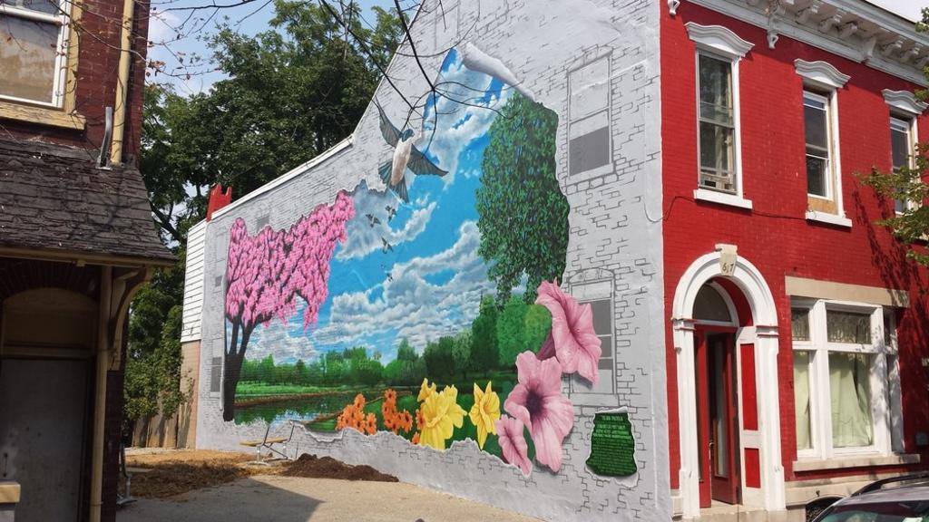 Allentown Mural - 'Tierra Pacifica (2015)'
