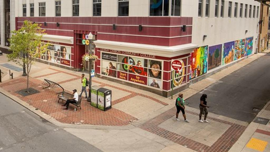 Allentown Mural - 'Wall on Hall (2019)'