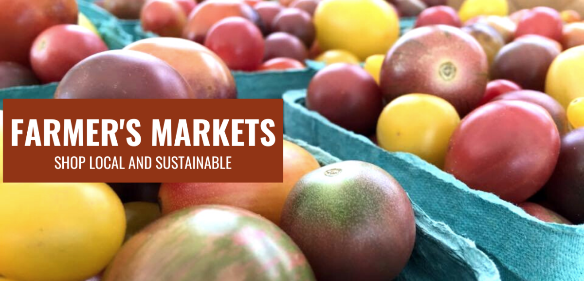 Farmers Markets Wanderlove Graphic