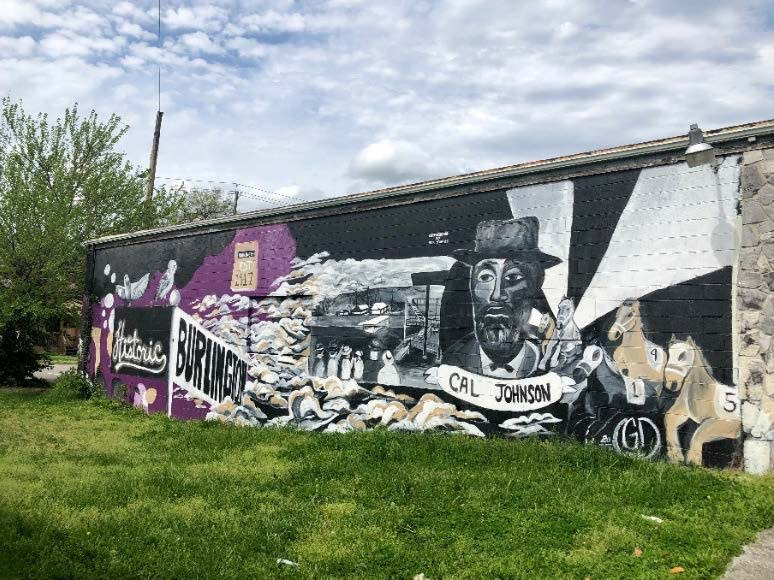 Cal Johnson/Historic Burlington Mural In Knoxville, TN