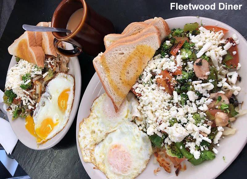 Fleetwood Diner breakfast, Hippie Hash
