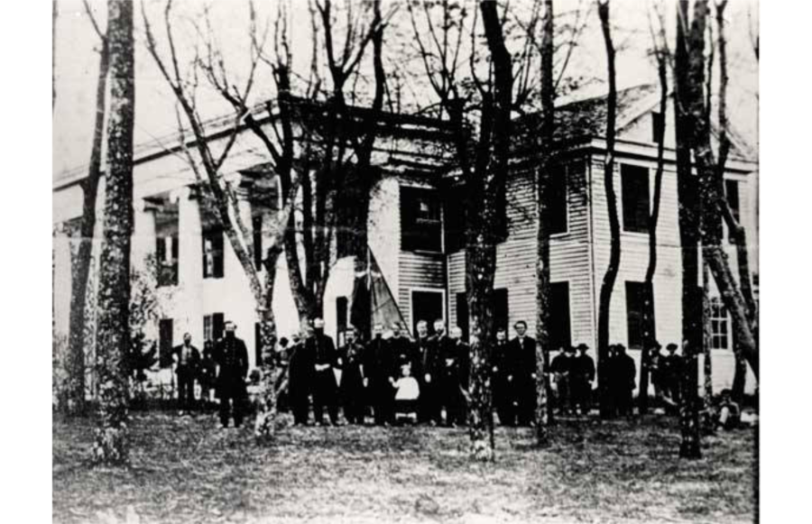 Occupied House Civil War Huntsville