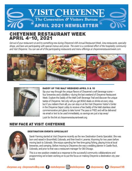 April 2021 Newsletter Thumb
