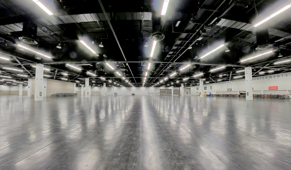 Hall D at the Anaheim Convention Center