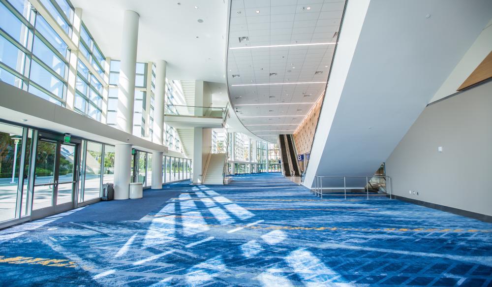 Plaza Level Lobby at ACC North