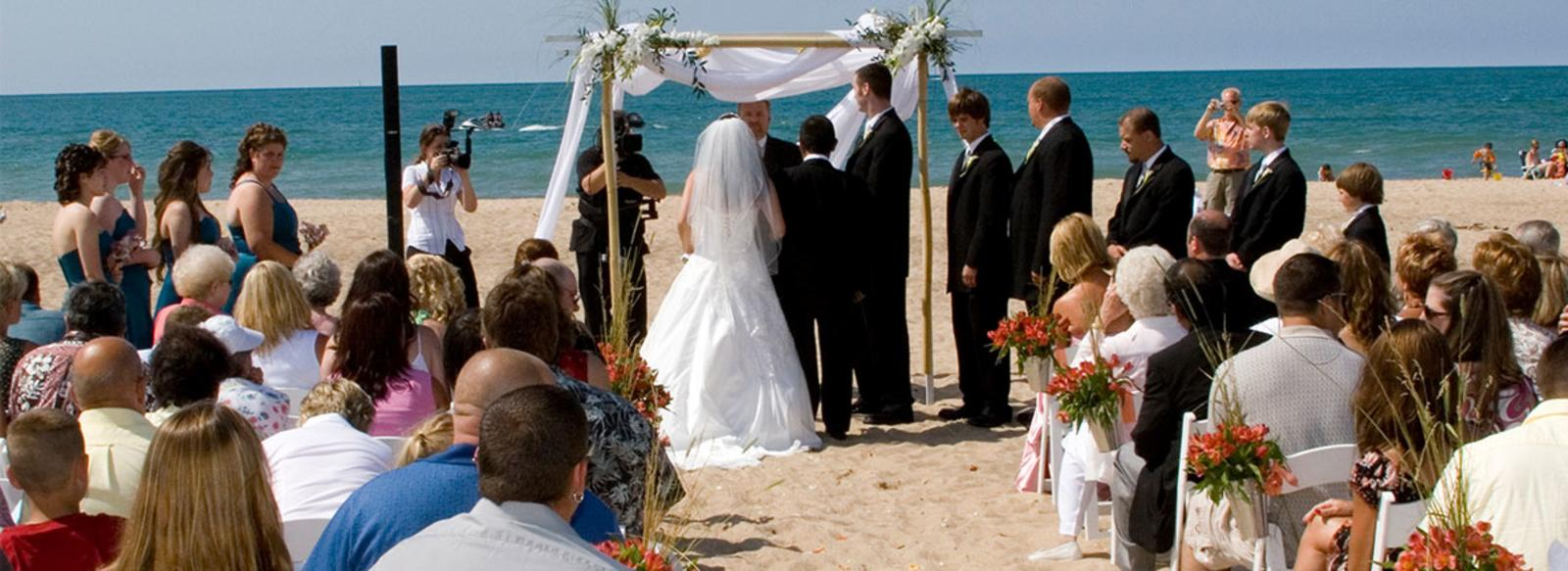 Beach Weddings Marquette Park Gary