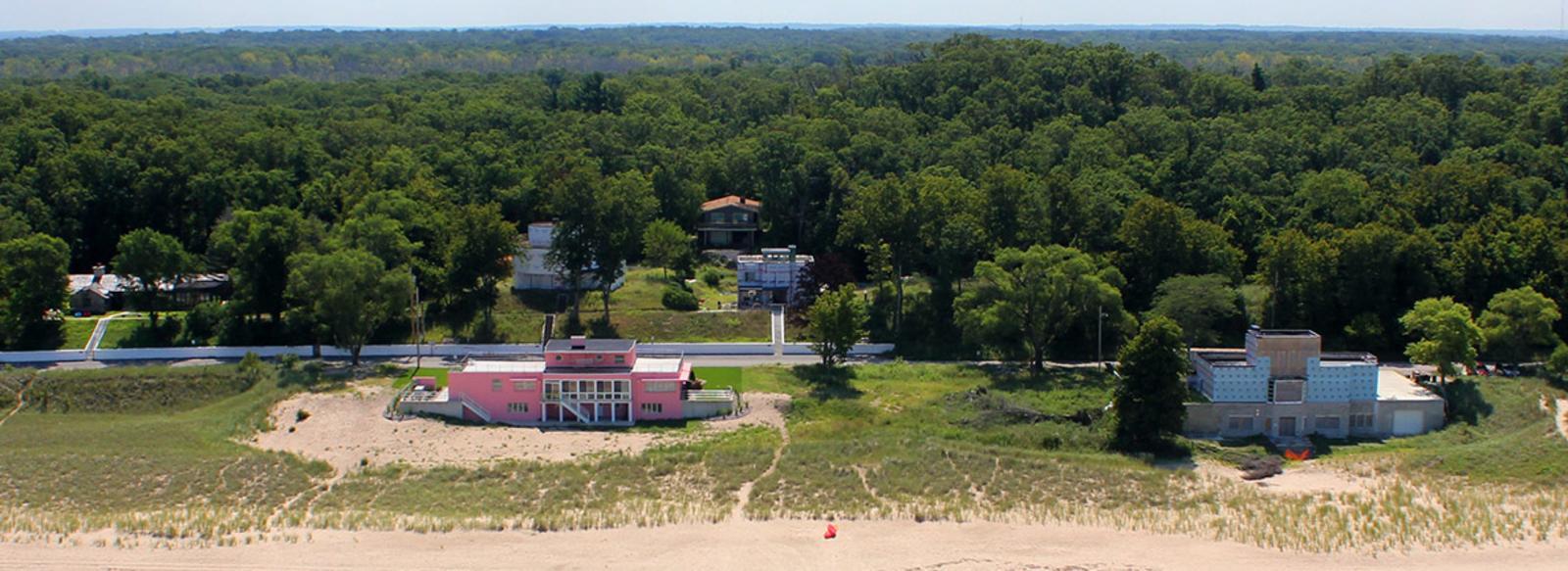 Century of Progress Homes on the beach
