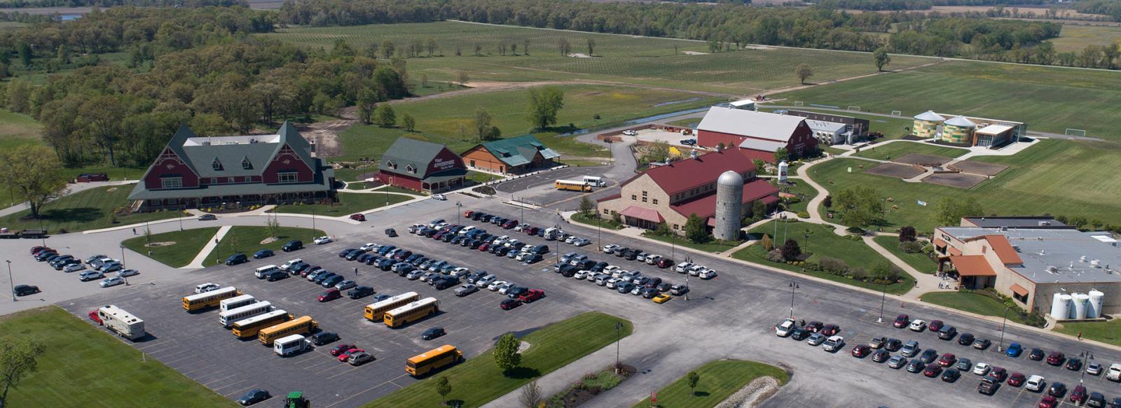 Fair Oaks Farms aerial shot