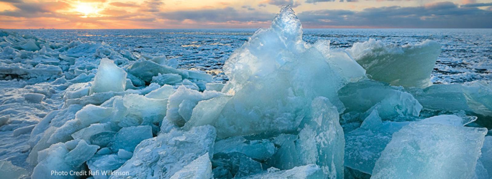 Shelf Ice Indiana Dunes - Rafi Wilkinson