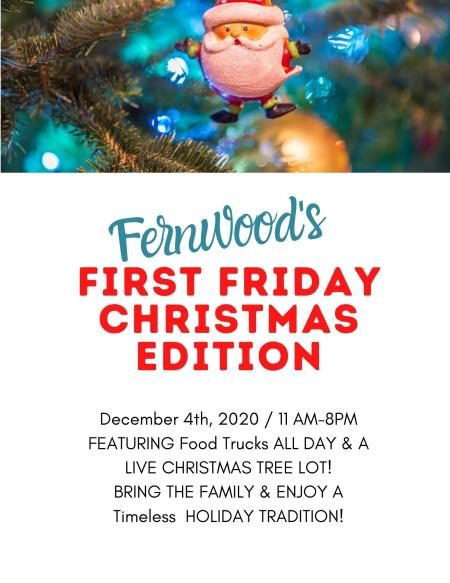 Fernwood First Friday Christmas Edition