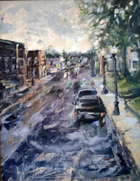 Plein Air Artists Paint the Town Best of Show winner in 2018