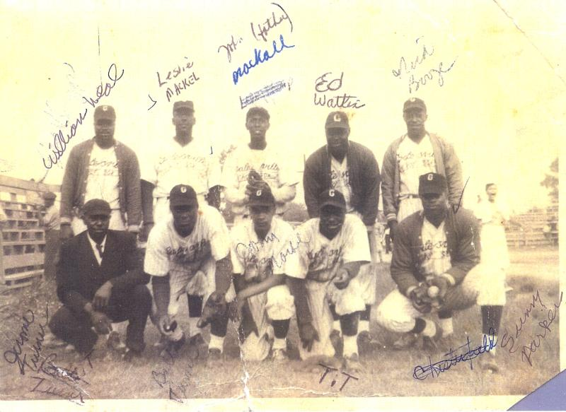 Former Galesville Hot Sox Team Photo