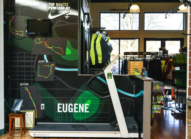 Eugene Running Company at Oakway by Melanie Griffin